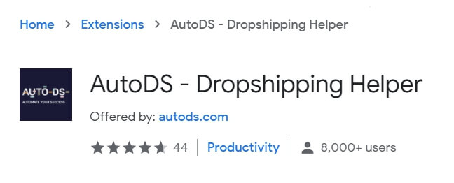 autods helper dropshipping