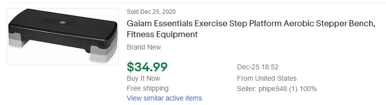 ebay dropshipping product example