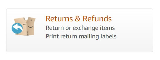 Amazon Returns and refunds dropship