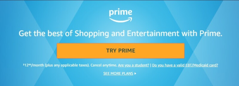 amazon try prime dropshipping