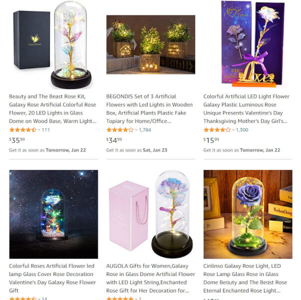 LED Artificial Flower dropshipping
