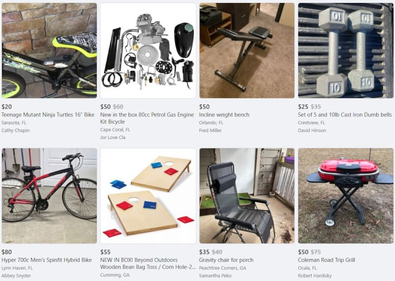 hobbies facebook marketplace