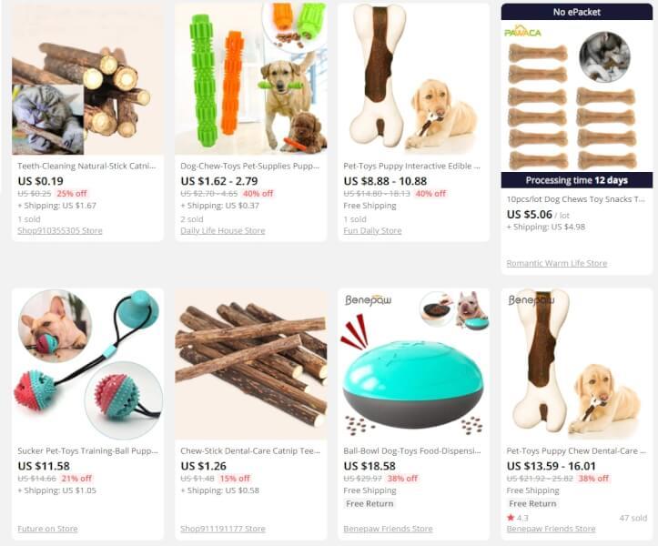 pet dental treats online store