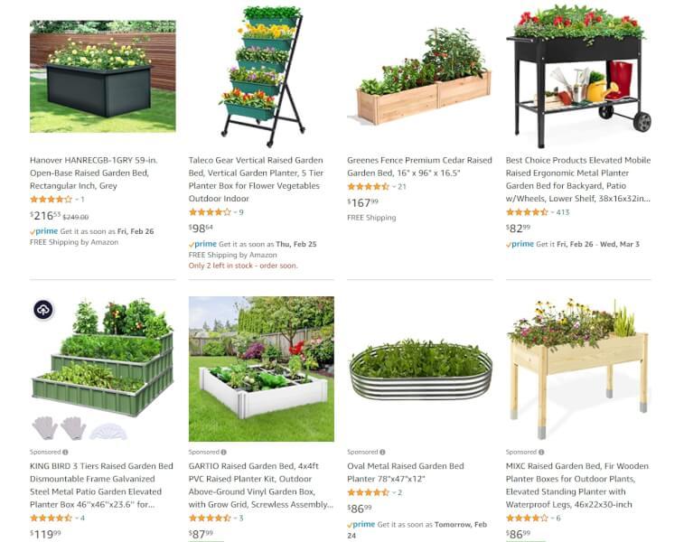 planter raised bed online sellers