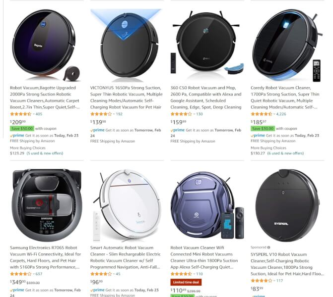 robot vacuum cleaner dropshippers