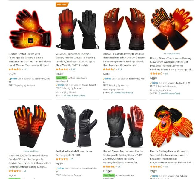 thermo gloves dropshipping