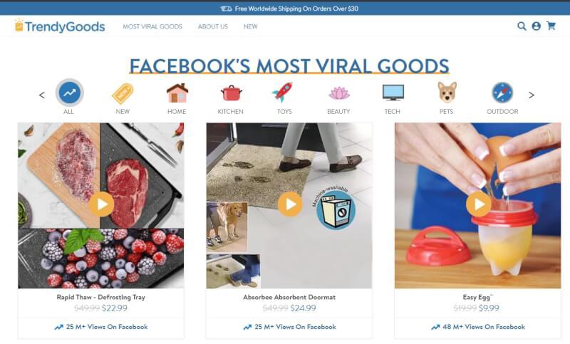 trendygoods online store