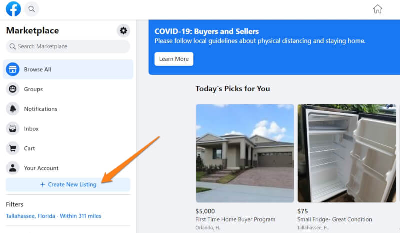 how to dropship facebook marketplace