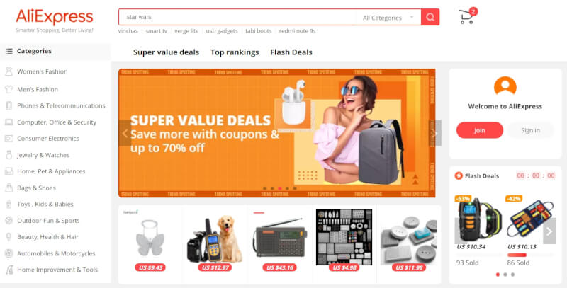 aliexpress find products to sell