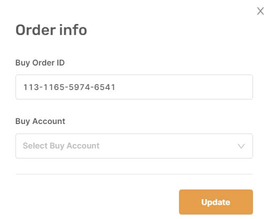order info ebay autods