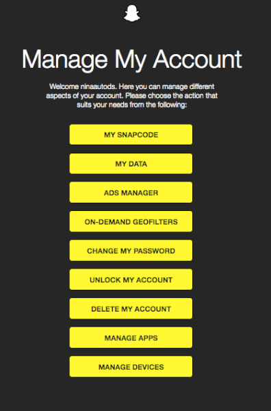 snapchat ads manager sign up