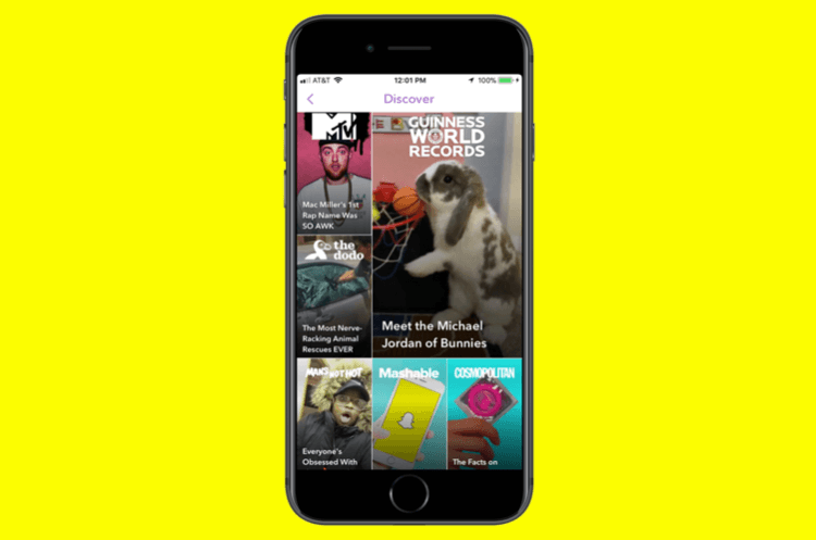 install snapchat discover