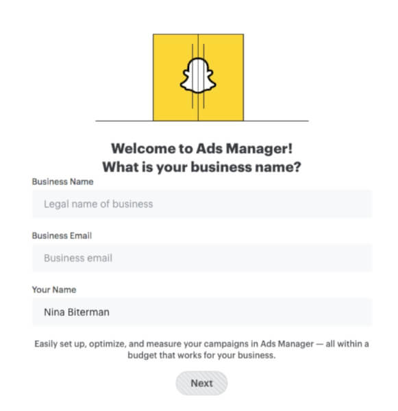 snapchat ads manager pixel