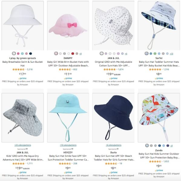Baby Sunhats Online Sellers