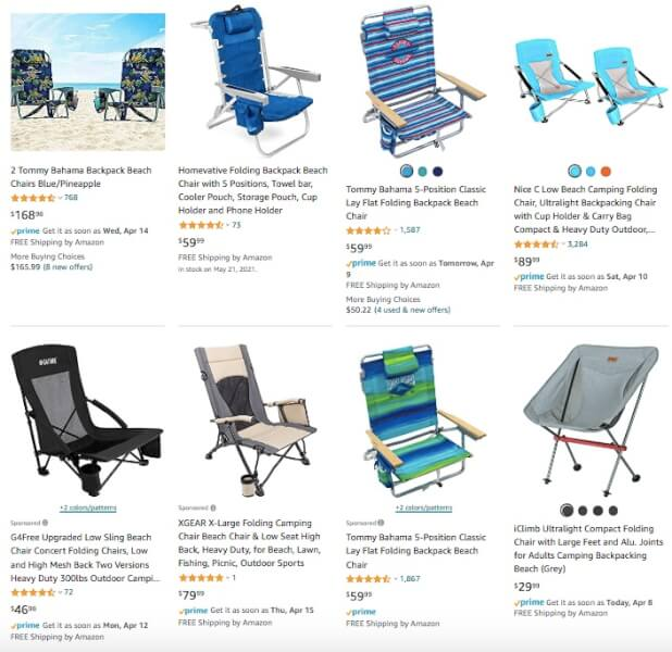 Beach Chairs Best Summer Products