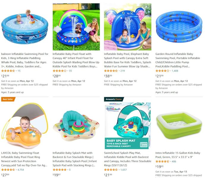 Inflatable Baby Pool summer dropshipping