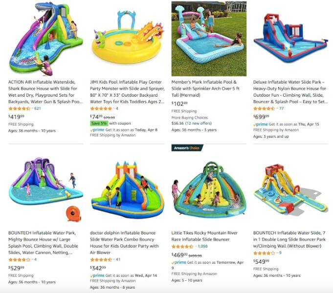 Inflatable Water SlidesDropshipping Products
