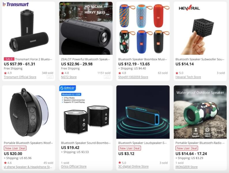 Waterproof Bluetooth Speakers Summer Dropship Products