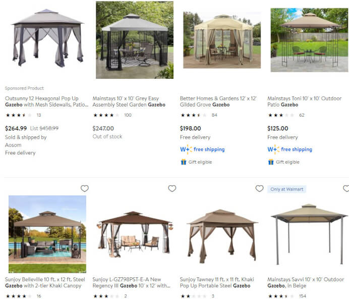 Canopies Gazebos Pergolas Summer Products To Sell