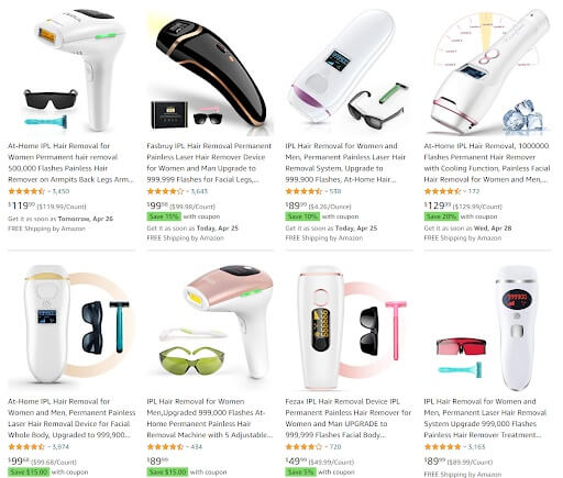 IPL Hair Removal Dropshipping Products