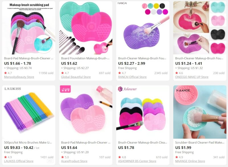 Makeup Dropshipping Products
