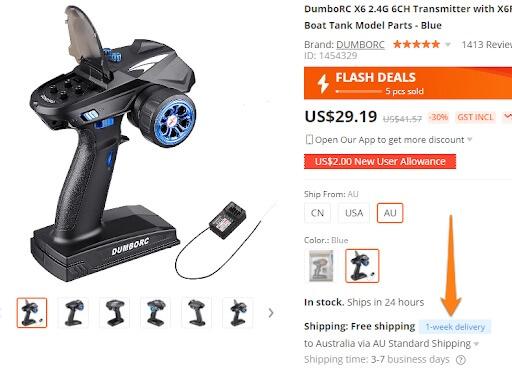flash deals aliexpress australia