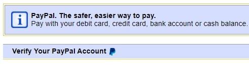 paypal verification ebay australia