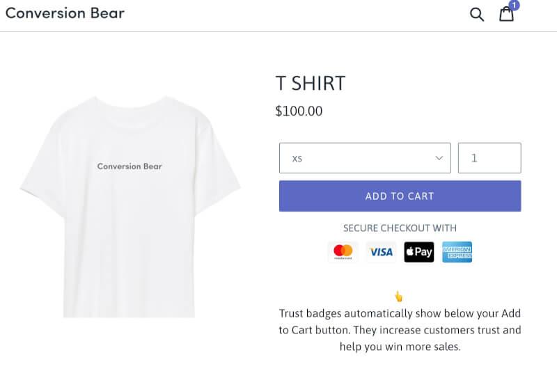 如何为 Shopify 店铺添加免费的信任徽章