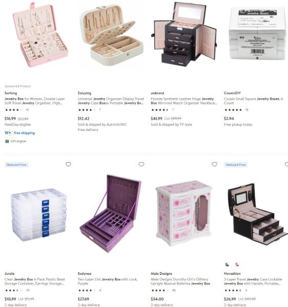 Jewelry Boxes dropshippers