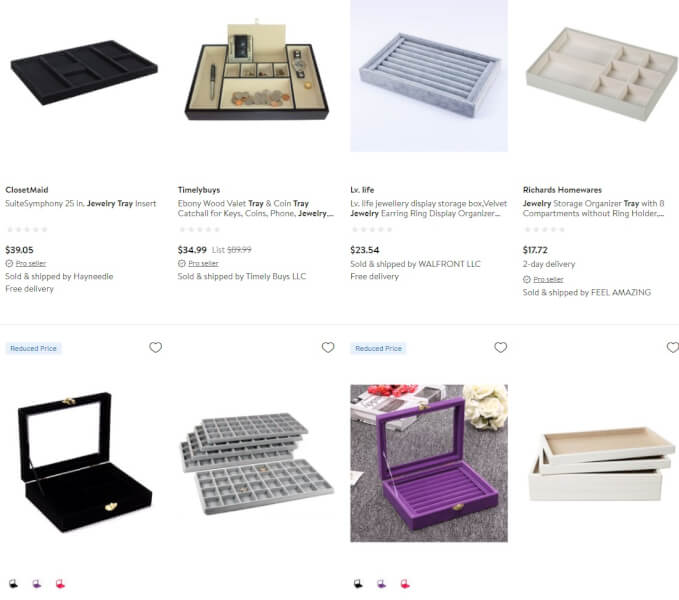Jewelry Trays dropshipping products
