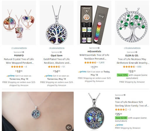 Tree Of Life Necklace dropshipping