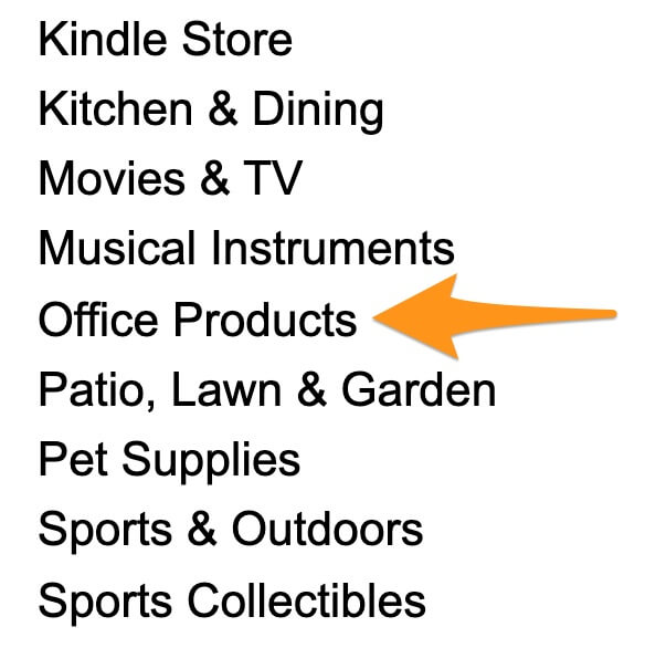 amazon office products dropshipping