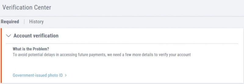 payoneer verification ebay