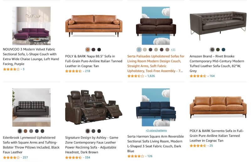 dropship sofas furniture