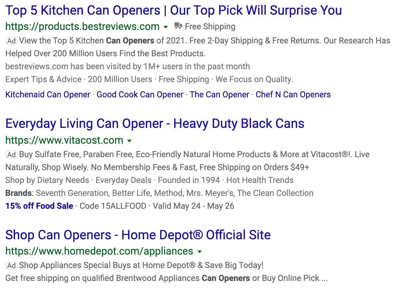 Bing ecommerce Marketing
