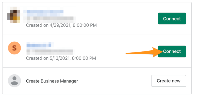 connect business manager