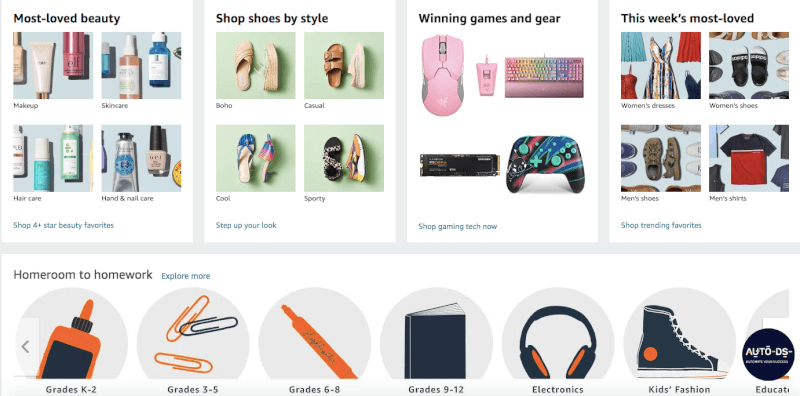 Top Product Categories