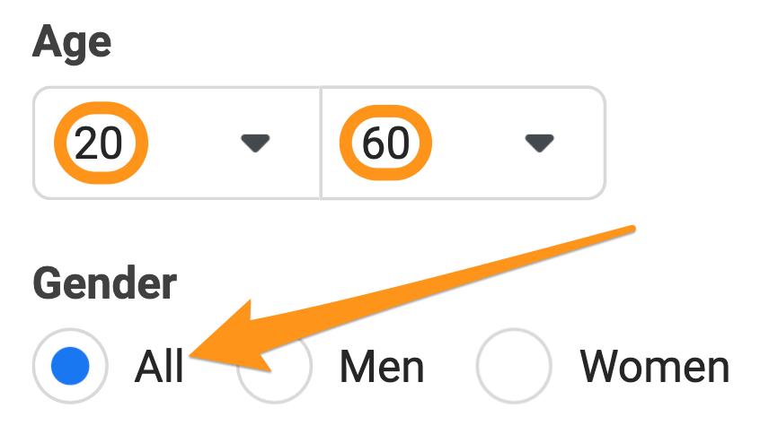 target all genders