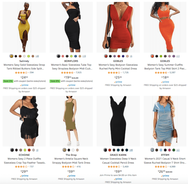 Women's Clothing - Hot Products - Bodycon Dress