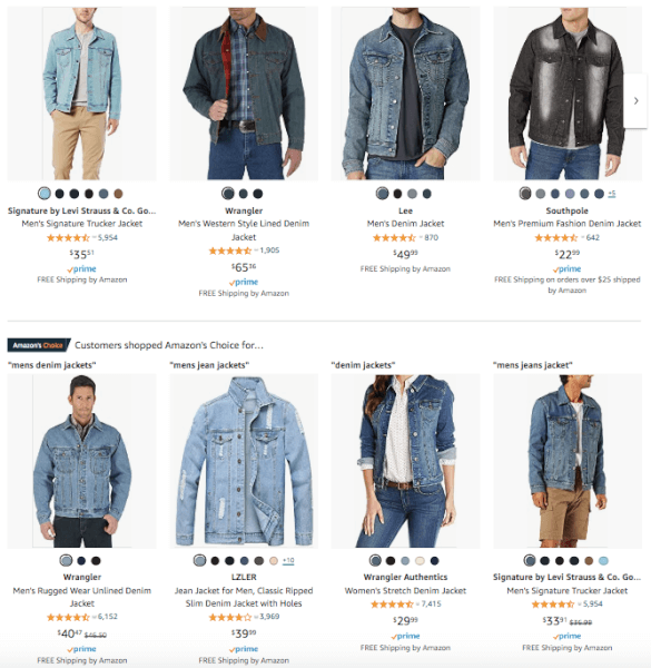 Men's Clothing - Hot Products - Denim Jackets
