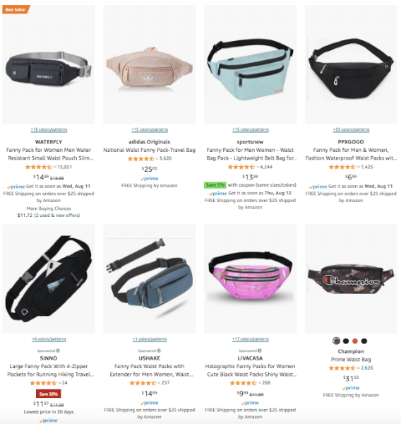 Accessories - Fanny Packs