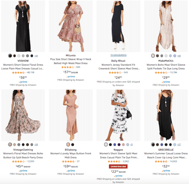 Women's Clothing - Hot Products - Maxi Dress