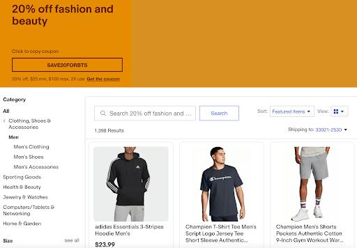 ebay create coupon