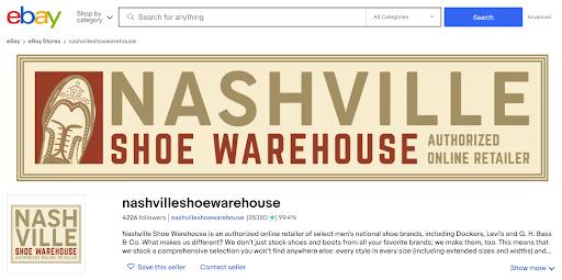 edit ebay storefront