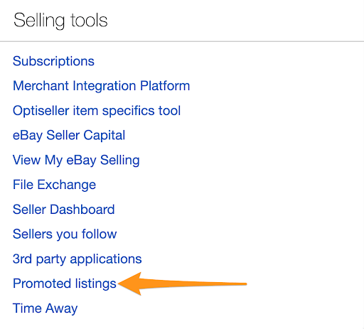 how to promote listings ebay