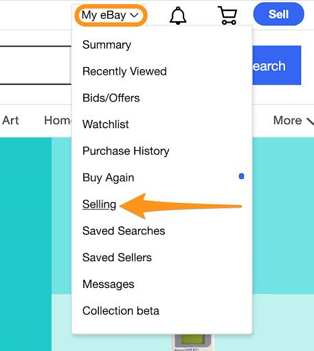 seller hub ebay