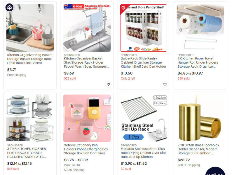eBay Best Selling Kitchen Storage & Organization Product