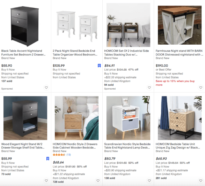 eBay Best Selling Furniture Product