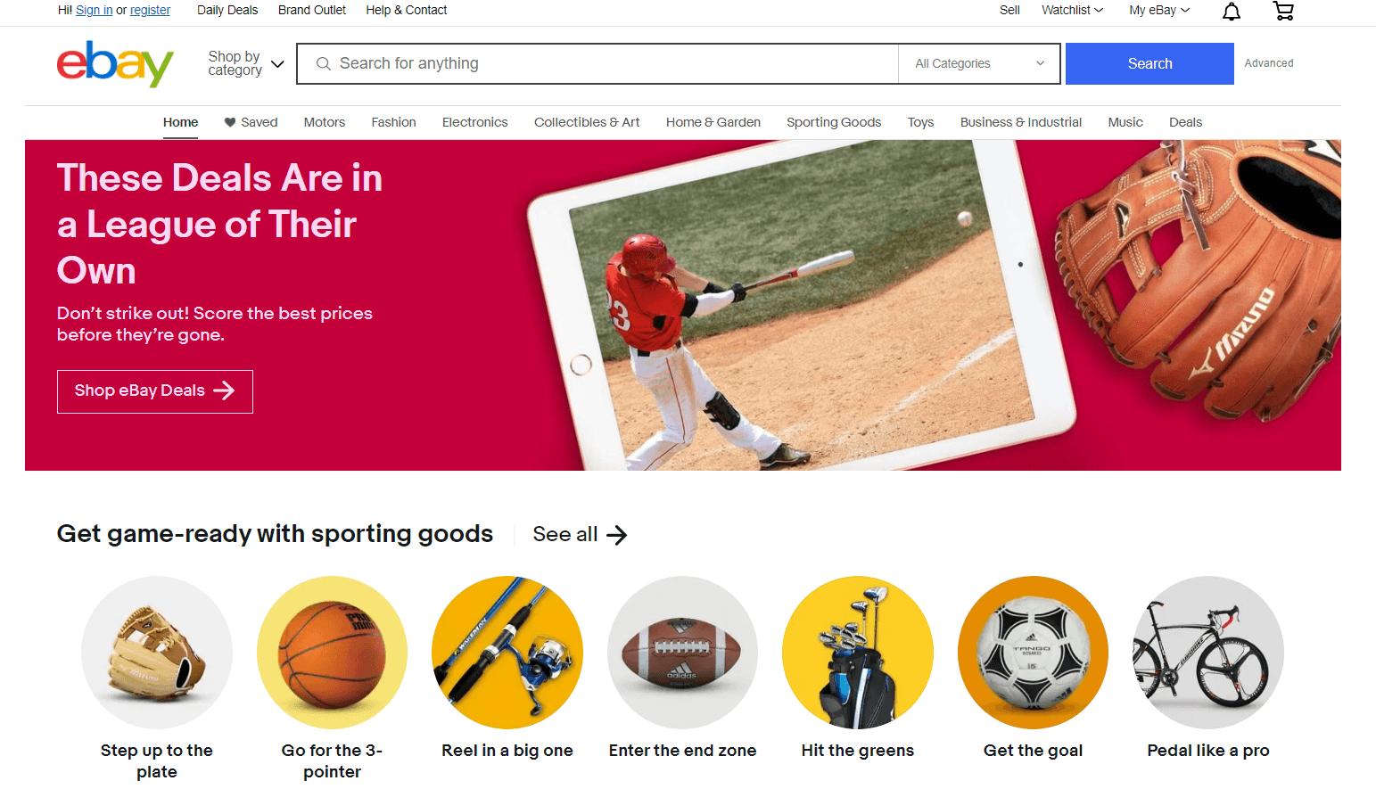 eBay E-Commerce Platform