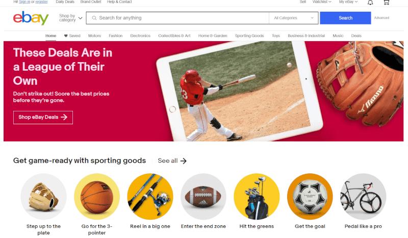 eBay Platform Selling channel